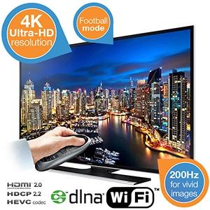 Samsung UE50HU6900 4K Ultra HD Smart-TV voor €809,90 @ iBOOD