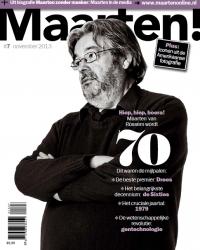 Gratis magazine Maarten! t.w.v. €6,50