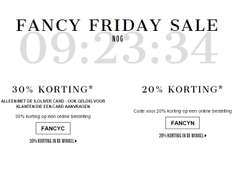 [BLACK FRIDAY] 20-30% (EXTRA) korting met code @ S.Oliver