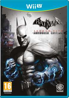 Batman: Arkham City Armored Edition (Wii U) voor € 6,35 @ Zavvi
