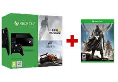 Xbox One Console (zonder Kinect) + Destiny + Fifa 15 + Forza 2 voor € 399,- @ Media Markt België