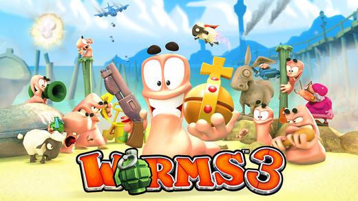 Worms 3 voor €0,99 i.p.v. €4,49 @ App Store