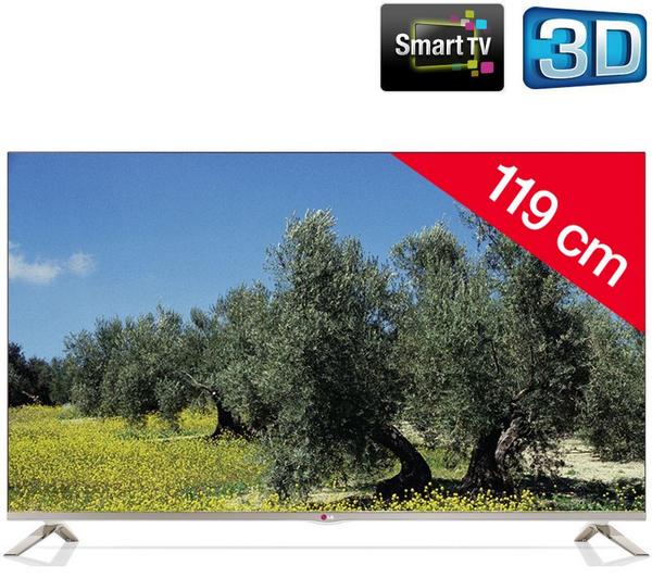 LG 47LB671V 3D Smart-TV voor € 656,99 @ Pixmania