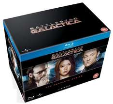 Battlestar Galactica boxset Complete Series (Blu-Ray) voor €42,37 @ Amazon.co.uk