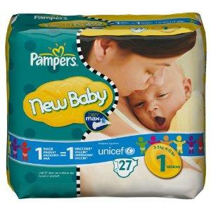 Tweede pak Pampers New Baby gratis @ AH