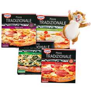2 Dr. Oetker Tradizionale pizza's voor €2,88 @ AH