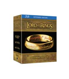 The Lord Of The Rings Trilogy Limited Extended Edition voor €31,99 @ V&D