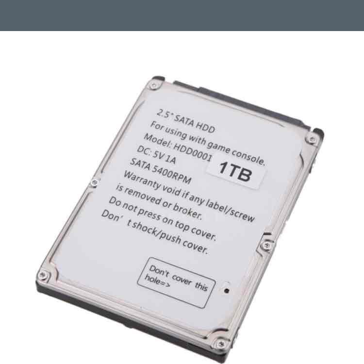 """1TB SATA 2.5"""" Hard Disk Drive HDD"""