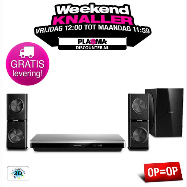 Philips HTB6251 2.1 Home Cinema Systeem voor € 199,- @ Plasma-Discounter.nl