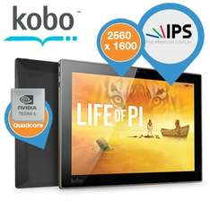 Kobo Arc 10HD Android tablet voor €236 @ iBOOD