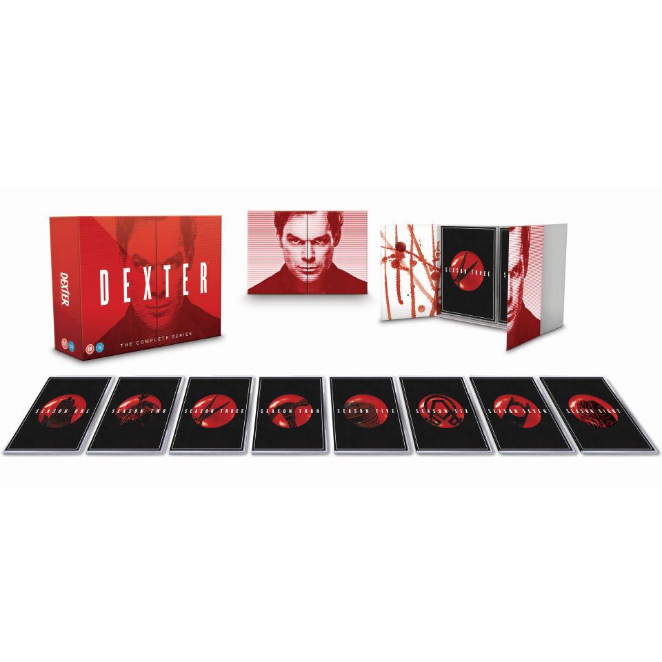 Dexter - The Complete Boxset (DVD) voor €49,55 @ Zavvi