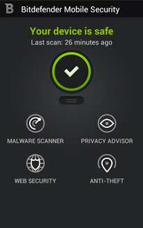 6 maanden gratis Bitdefender Mobile Security