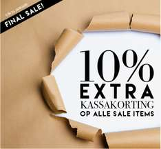 10% EXTRA korting op alle sale @ Perfectly Basics