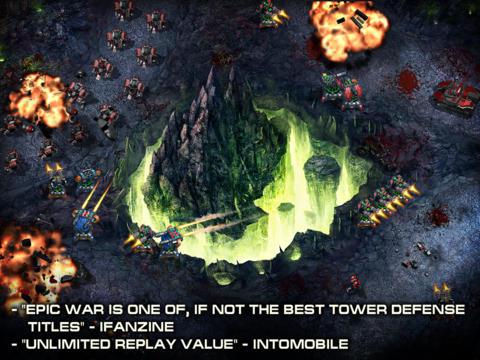 Game Epic War TD Pro t.w.v. €2,69 gratis @ App Store