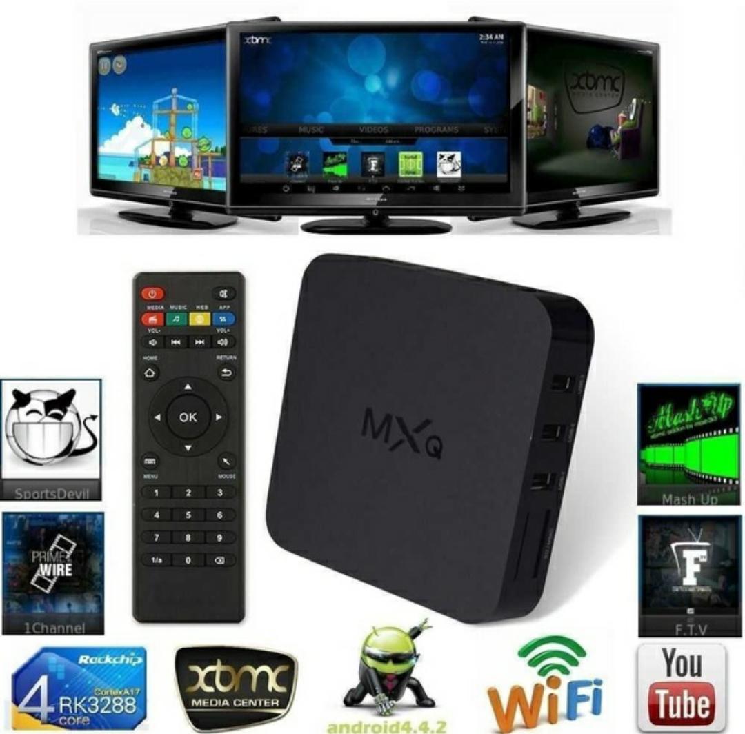 EU MXQ Android 4.4 Quad-Core WiFi Kodi 1080P Smart set TV Box 8GB XBMC /KODI €28 @ Wish