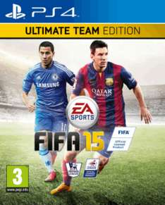 Fifa 15 Ultimate Team Edition (PS4 / Xbox One) voor € 59,22 @ Zavvi