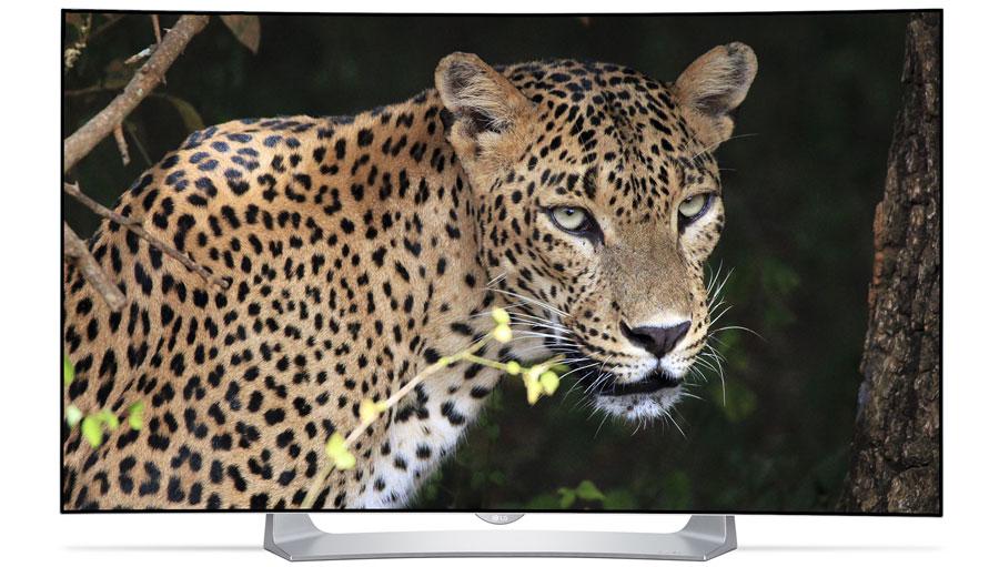 LG55EG910V gebogen OLED 3D tv voor €1799 @ Art & Craft