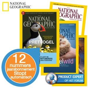 Jaarabonnement National Geographic magazine voor €29,95 @ iBOOD
