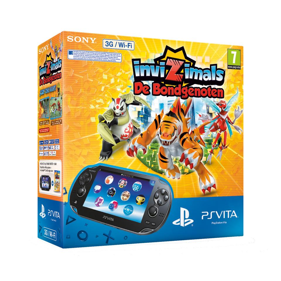 PS Vita WiFi + 3G + Invizimals: De Bondgenoten (NL) voor €143,99 @ Bart Smit