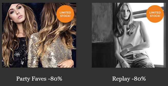 Diverse sales 80% korting @ Members.com (oa Replay)