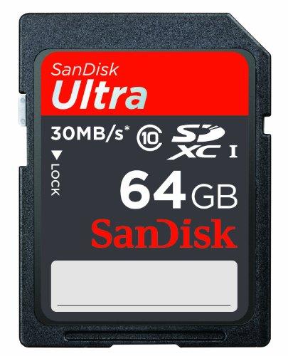 Sandisk Ultra SDXC 64GB geheugenkaartje voor €28,69 @ Amazon.de