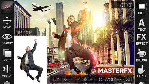 App MasterFX HD (t.w.v. €8,99) gratis @ App Store