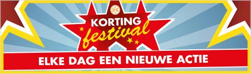 Korting Festival - elke dag 20% korting @ Expert