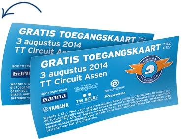 Gratis toegangskaart voor GAMMA Racing Day op TT Circuit Assen