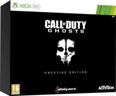 Call of Duty: Ghosts Prestige Edition (Xbox 360/PS3) voor €29,99 @ Intertoys
