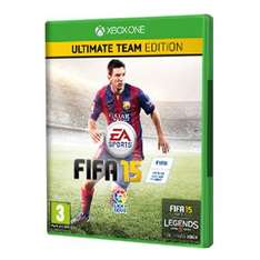 FIFA 15 Ultimate Team Edition (Xbox One) (download) voor €36,86 @ Xbox Store India