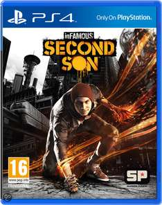 Infamous: Second Son (PS4)  voor €29,99 @ Bol.com