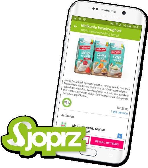 Gratis Melkunie Kwarkyoghurt (geld terug) @ Sjoprz App