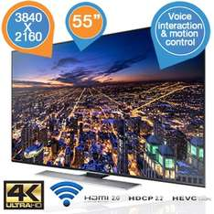 "Samsung UE55HU7500 55"" Ultra HD LED Smart-TV voor €1708,90 @ iBOOD"