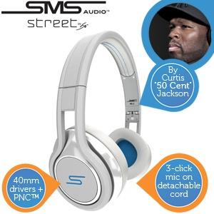 SMS Audio STREET by 50 koptelefoon voor €85,90 @ iBOOD