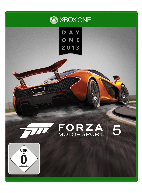 Forza Motorsport 5 Day One Edition voor € 30,47 @ Amazon.de