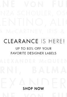 Clearance Sale met kortingen tot 85% @ the Outnet