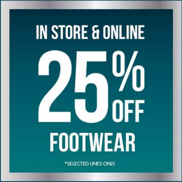25% Korting op selectie schoenen - dames - heren - teens - @ New Look