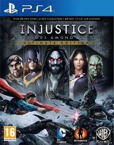 Injustice: Gods Among Us Ultimate Edition (PS4) voor €19,36 @ Play-Asia