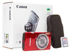 Canon Digital IXUS 165 Red Camera + Essentials Kit voor €69 @ Cameratools