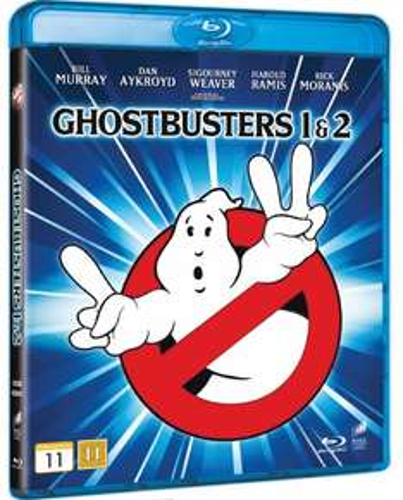 Ghostbusters 1 & 2 (Blu-ray) voor €11,89 @ WOW HD