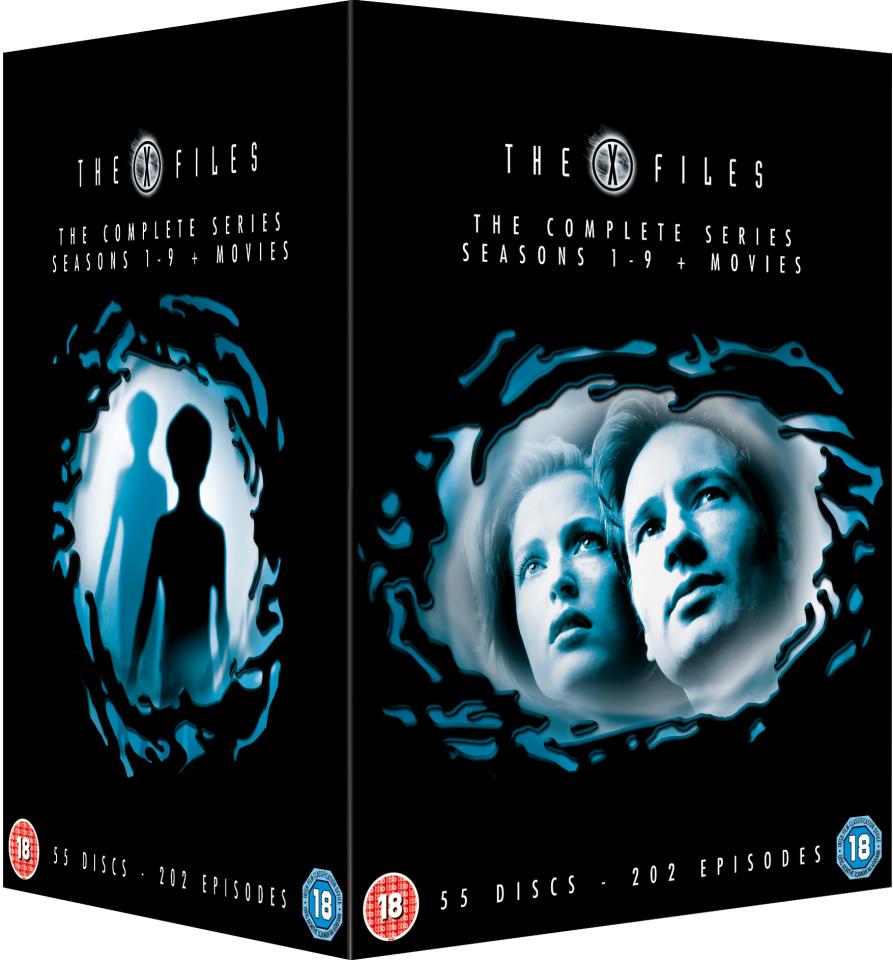 The X Files seizoen 1 - 9 + films (DVD) voor €57,19 @ Zavvi