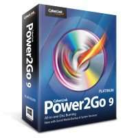 CyberLink Power2Go 9 Platinum (Gratis) @ Sharewareonsale