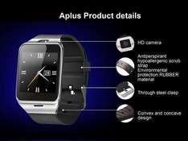 [PRIJSFOUT?] Aplus GV18 Smartwatch, SJ4000 Actioncam of RC Drone voor €1 per stuk @ Wish.com