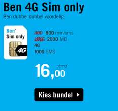 Ben Sim Only deals