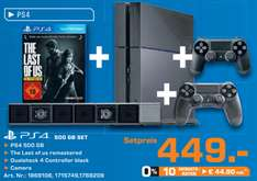 PS4 + The Last of Us Remastered + extra controller + camera voor €449 @ Saturn Duitsland