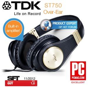 TDK ST750 koptelefoon voor € 40,90 @ iBOOD
