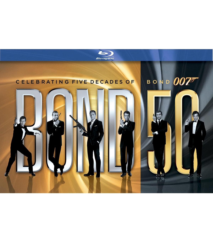 James Bond - 50th Anniversary Collection (Blu-ray) voor € 89,99 @ V en D