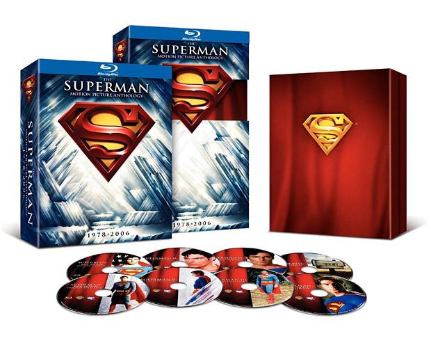 Superman 8 discs boxset (Blu-ray) voor €13,69 @ WOW HD