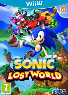 Sonic Lost World (Wii U) voor € 19,19 @ Zavvi