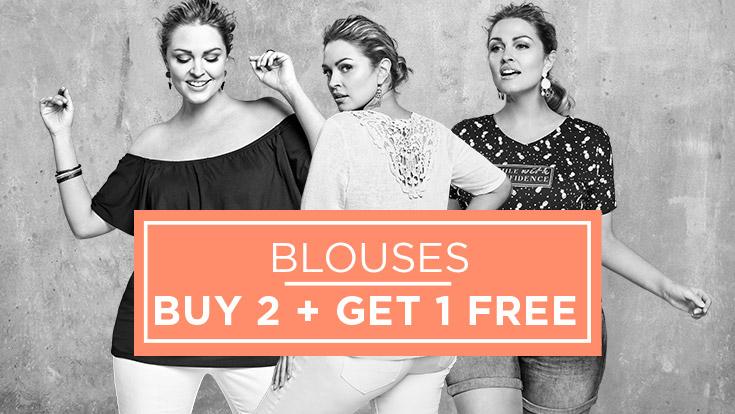 Blouses & tunieken 2 + 1 GRATIS @ M&S Mode